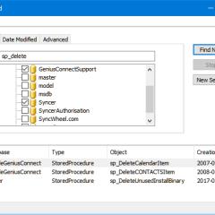 SQL Server Find
