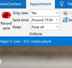 DVBLink For Outlook